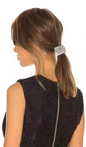 Accesorios para el cabello nuevo estilo de Bling Bling del Rhinestone del diseñador de la pinza de pelo pinza de pelo de las mujeres de moda para el partido del regalo