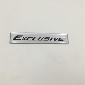 Для Toyota Fortuner Exclusive Задний Назад Tail герба Логотип Боковой Fender паспортной Наклейки