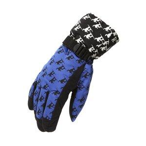 Унисекс Лыжные перчатки Термические непромокаемые зимние перчатки Теплое MOTORCYCLE Esqui Сноуборд Антифриз Спорт на открытом воздухе толщиной Dropship # 0807