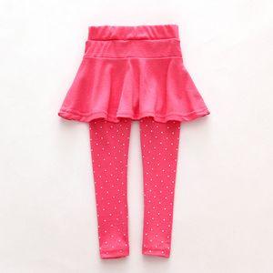 Toddler girl wool culotte render pants kids child black pink legging trousers pant skirt baby clothes
