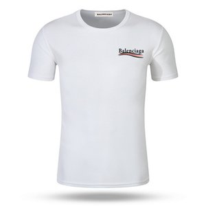 Balenciaga lusso Europa Francia di alta qualità Vetements fumetto maglietta del Mens di modo del progettista delle magliette vestiti casual Cotton Tee Top