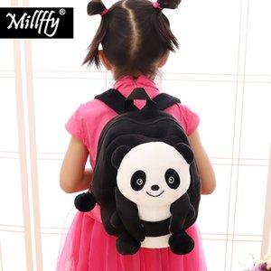 2019 Millffy Yeni Varış Çocuklar Peluş Panda Ayı Sırt Çantası Yürüyor Anaokulu Çocuk Hayvanlar Schoolbag Sackpack