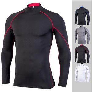 Course chemises sèches col rond mens vêtements de sport d'ajustement manches longues yldiyo body building de sous-vêtements Pall suiit