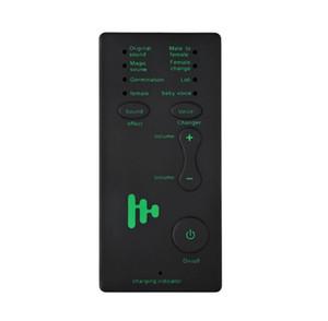 الهاتف المحمول / الكمبيوتر بطاقة الصوت مصغرة صوت المغير زر واحد جميل تغيير الصوت أكل الدجاج لعبة مرساة تسجيل الميكروفون