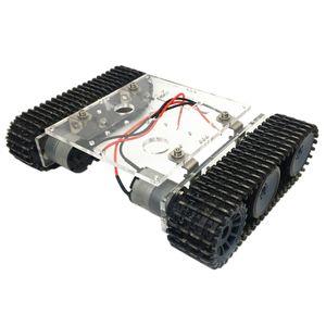 Manipulators Kits DIY Assembling Acrylic 33GB520 Motor DC9-12V Robot Tank Car Chassis Track Crawler Circuits Kits for Arduino Learning Kits