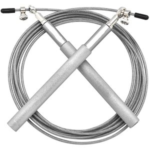 Alluminio Velocità Jump Rope Crossfit Fitness Training Professionale 3M regolabile in acciaio inox filo Home Gym Corde per il Salto