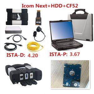 2020 Promoción para BMW ICOM SIGUIENTE A + B + C nueva generación de ICOM A2 con 2020.01 500 GB Software y CF52 portátil de alta calidad