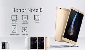 "Оригинальный Huawei Honor Note 8 4G LTE сотовый телефон Kirin 955 Octa Core 4GB RAM 64GB 128GB ROM Android 6.6"" 13.0 MP Fingerprint ID мобильный телефон"