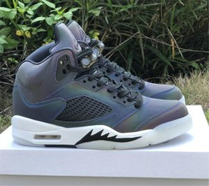 2020 New Released 5 WMNS Oil Grey Designer Basketball Shoes Best Quality Mens V 5s Sports Sneakers Size US7-11 CD2722-001