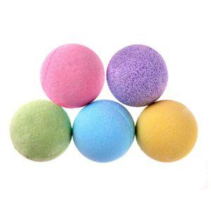 1pc sal de banho de bola Deep Sea sal de banho Corpo Rosa Essencial pele do corpo Oil Whiten Relax Stress Relief bolha Natural Bombas Duche