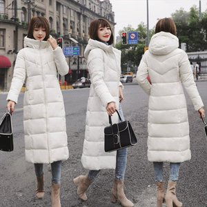Jacket Winter Women Plus Size 6Xl 2020 Warm Slim Zipper Autumn Long Women Parkas Thicken Outerwear Cotton Padded Winter Coat