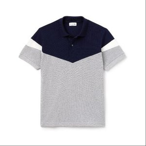 2019 Designer Mens Shirts Verão Marca Crocodile Moda Shirts Hot Sale alta qualidade com 4 cores tamanho M-2XL