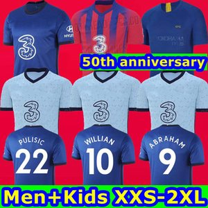 2020 2021 WERNER PULISIC Kanté İBRAHİM MONTAJ ZIYECH ev futbol formaları 2019 SİYAH futbol forması 19 20 21 ERKEK ÇOCUK de MADDE Camiseta LIVES