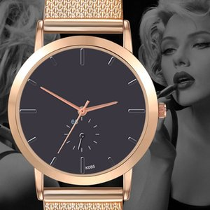 1Pcs Business Stainless Steel Watchband Leisure Motion No-Waterproof Quartz Fashion Women&Men's Sports Watch Wholesale Quicksand