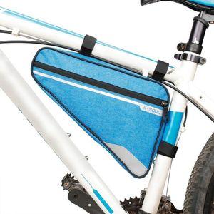 Sac de Vélo Cadre Avant Tête Supérieure Tube Sac De Vélo Vélo En Plein Air Triangle Vélo Poche De Vélo De Montagne Portable Sac De Rangement