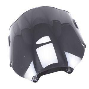 Double Bubble Windshield Windscreen For Honda CBR900RR CBR893RR Black