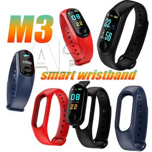Давление M3 Смарт Tracker Группа Wristband крови монитор сердечного ритма шагомер Спорт Здоровье Фитнес браслет для Android