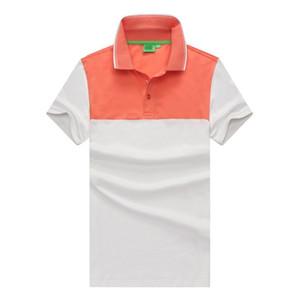 Американский дизайн мужская рубашка поло бренды повседневная новая летняя горячая распродажа рубашка поло США американский флаг бренд поло Мужчины с коротким рукавом Спорт Поло