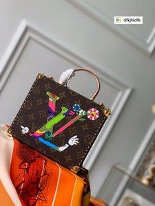 Gran posición de letras cosmética M50714 bolsos de las mujeres ICÓNICO SUPERIOR MANIJAS BOLSOS TOTES CRUZ cuerpo de la bolsa tarde de los embragues
