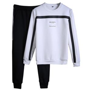 Tracksuits Men Winter Tracksuit Set Solid Sweat Suit Men Track Suits Set Coat +Pants Outwear Sportssuit Jacket and Sweatpant Pretty