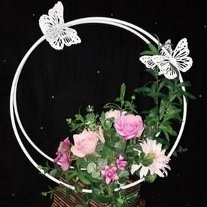 Yeni kelebek ay düğün kravat yi geometri yol T evresi düğün güzellik Chen dekorasyon sahne pencere arkaplan duvar kurşun
