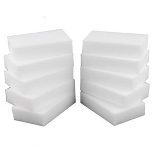 Esponja mágica Borrador de esponja de melamina blanca para teclado Cocina de autos Baño de limpieza de melamina de alta desidad