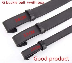 2019 homens / mulheres cinturão negro das mulheres de alta qualidade genuína couro e cor branca couro Belt Para Mens Belt frete grátis