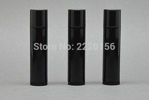 Frete grátis - 1000pcs / lot DIY 5ml preto PP Batom Tube, 5cc Lip Balm Recipiente, recipiente cosmético, embalagem