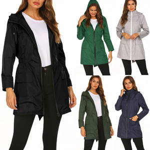 High quality LU Women's Yoga windproof Running Jacket Gym Long sleeves Fitness Workout Quick Dry Elastic Zippered Outdoor Sports Jacket