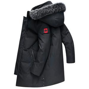 Rivestimento di inverno gli uomini nuovi casuale addensare Warm -30 gradi con cappuccio Giacca a vento Parka Dimensione cotone imbottito giacche da uomo 8XL 7XL 6XL