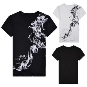 Hommes Casual style chinois T-shirt 2020 Fashion Slim Fit de base des hommes T-shirts d'été manches courtes pour hommes Hauts Camiseta Masculina Ropa