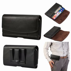 Leather Pouch Holster Belt Clip Case For Blackberry Key 2 LE Motion Aurora DTEK60 DTEK50 Priv Leap Ulefone X Ulefone S9 Pro Bag
