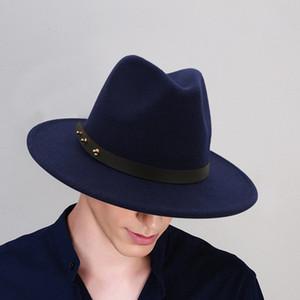 Men & Women Vintage Wide Hat with Belt Buckle Adjustable Outbacks Hats