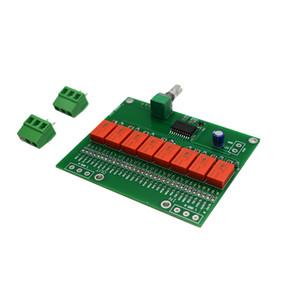 Freeshipping HIFI bord relais de commande de volume du circuit de commande de volume pour DC5V amplificateur DAC T1384