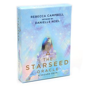 The Starseed Oracle: A 53-Card Deck and Guidebook Deck Tarot Cards Game Toy Fortune Telling Divination Book Sets
