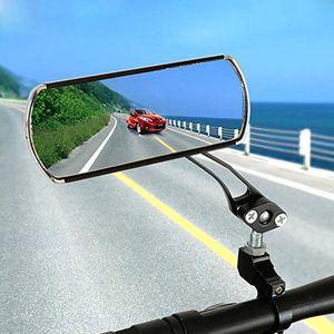 1 Paar Aluminium-Legierung Fahrrad-Rückspiegel 360 Grad justierbarer Fahrrad-Rückspiegel Mountain Road Bike mit Fixed Gear