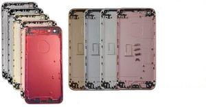 20 ADET OEM iphone 7G Yedek Geri Konut Batarya kapağı için LOGO ücretsiz DHL ile kısmıyla Montaj Orta çerçeve Çerçeve