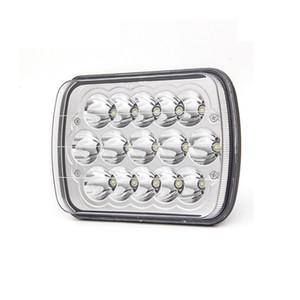 7inch Çalışma Light Bar 10-30V DC 45W LED Araç İş Işık Farlar Otomatik Ve Motosiklet Yüksek Parlaklık Dropship 19J11