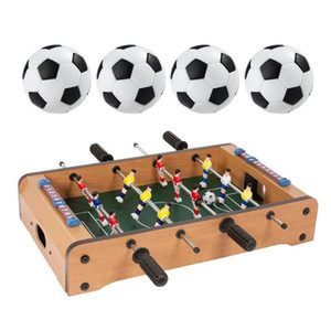 4 PCS Plastic games Table Football Fussball Soccerball Sports Gift Round Indoor Game 32mm foosball table party Kids Play Toys