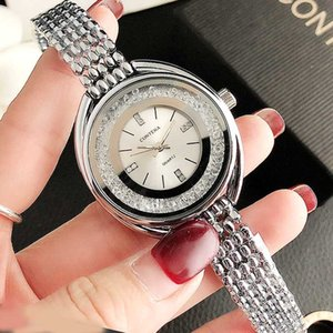 2020 New Silver Watches Women Watch Luxury Fashion Brand Women's Bracelet Watch Ladies Stainless Steel Wristwatches Woman Clock