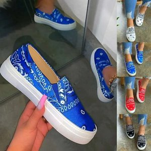 Las mujeres de la serpiente PU de la impresión zapatos de cuero vulcanizado atan para arriba las zapatillas de deporte de moda femenina Pisos 2020 nueva plataforma Zapatos mujer blanca que recorre Calzado