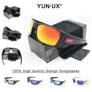 YUN`UX extérieur personnalisés Lunettes de soleil hommes YU9096 polarisants Iridium Objectif Lunettes de soleil avec le paquet au détail Livraison gratuite