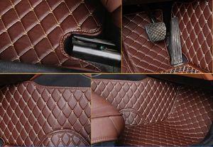 Por Fit Audi A5 / A5 Quattro / RS5 / S5 2009-2019 coche estera del piso delantero traseras Liner Auto alfombras de las esteras alfombras de piso a prueba de agua