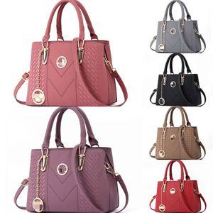 2020 Grau Filz Frauen-Handtasche Kreative Dame Tote Solide handgemachter Beutel-beiläufige Schultertasche Designer-Platz Trend Taschen aus Filz # 935