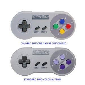 SNES Mini Wireless Gamepad Joystick USB-Empfänger für Super für SNES 2,4-GHz-Wireless-Controller Intellectual Spielzeug