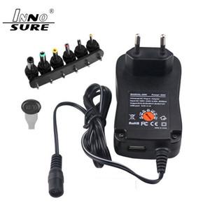Os mais recentes parede Plug-in Adaper 30W adaptador de energia multi-função Converter com 3-12V de tensão ajustável Plugs EUA UK AU padrão da UE