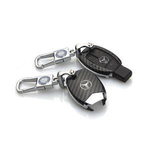 Carbon Fibre Car Key Case Shell für Mercedes Benz Key FOB
