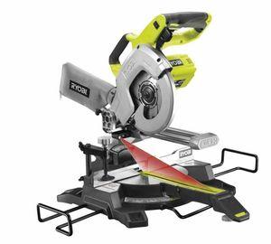 Al por mayor - Ryobi R18MS216-120G inalámbrico sierra ingleteadora con una función tirón