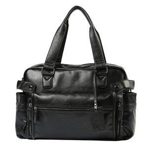 Herrenhandtasche Recreational Street Trend Einzelne Schulter-schräge Span-Tasche mit großer Kapazität Umhängetaschen Reisen