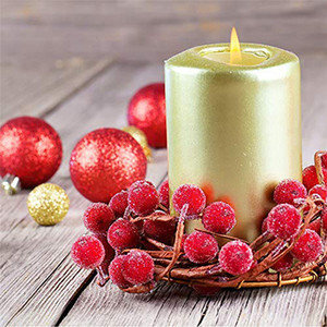 Mini Christmas Frosted Berry Artificial Foam Berries Árboles de Navidad Home Guirnalda Decoraciones Simulación Frosted Berry Fruit